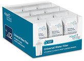 Aqua Optima RUF916 Universal Water Filter, 12 pack