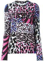 Versace 'Wild Patch' long sleeved T-shirt