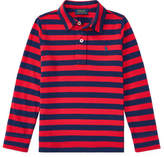 Ralph Lauren Long-Sleeve Striped Polo, Size 2-4