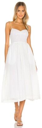 L'Academie The Marie Midi Dress