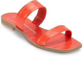 Dolce Vita Iarra Croc Embossed Strappy Sandal
