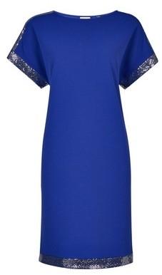 Dorothy Perkins Womens Tall Cobalt Embellished Shift Dress, Cobalt