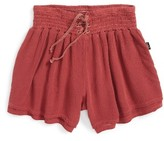 T2 Love Girl's Smocked Shorts