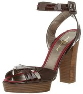 7 For All Mankind Women's Liza Ankle Strap Sandal