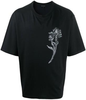 Ann Demeulemeester floral print T-shirt