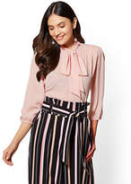 New York & Co. 7th Avenue - Bow-Accent Blouse