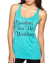 Allntrends Women's Tank Top Sweating For The Wedding Cool Fitness Top (S, )