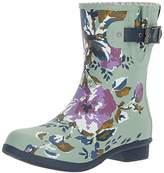 Chooka Women's Memory Foam City Printed Mid Waterproof Rain Boot