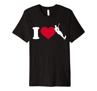 I love water skiing Premium T-Shirt
