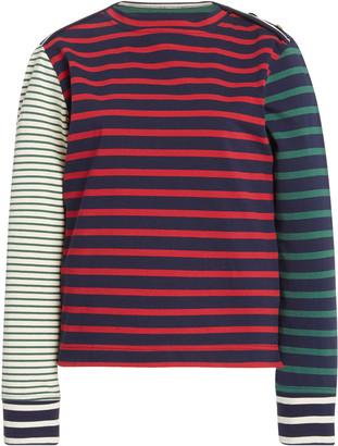 Wales Bonner Carroll Striped Cotton-Jersey T-Shirt