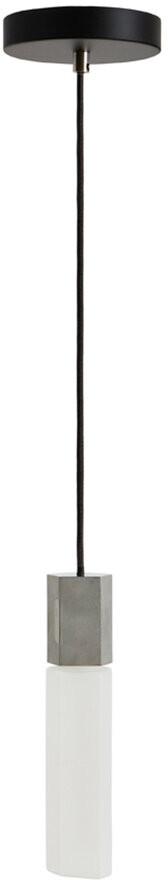Tala Basalt Single Pendant - Stainless Steel