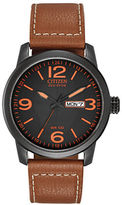 Citizen Eco-Drive Ion-Plated Watch