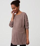LOFT Maternity Swing Tunic Sweater