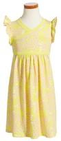 Tea Collection Toddler Girl's Sadie Wrap Neck Dress