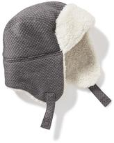 Old Navy Quilted Sherpa-Lined Trapper Hat for Toddler