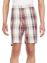 Tommy Bahama Hana Plaid Stretch Cotton Shorts
