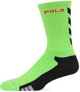 Polo Ralph Lauren Athletic Chevron Crew Socks