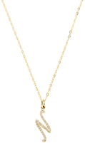 N. 14K Yellow Gold & 0.10 Total Ct. Diamond Pendant Necklace