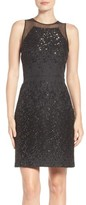 Vera Wang Women's Metallic Sheath Dress