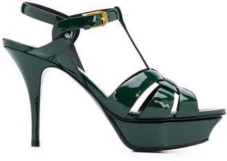 Saint Laurent Tribute 105mm platform sandals