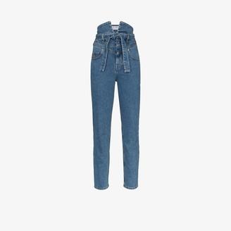 ATTICO High Waist Skinny Jeans