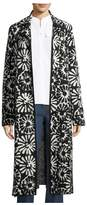 Tory Burch Rosalie Pomela FloralPrint Coat