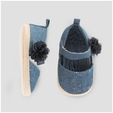 Just One You made by carter Baby Girls' Espadrille Blue - Just One You Made by Carter's®