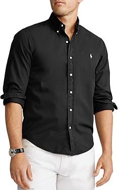 Polo Ralph Lauren Cotton Twill Slim Fit Button-Down Shirt
