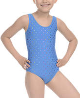 Danskin Blue Dot Leotard - Girls