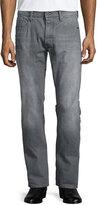 G Star G-Star Stean Tapered-leg Accel Stretch Denim Jeans, Gray