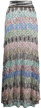 Missoni Abstract-Print Maxi Skirt