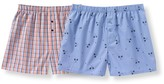 La Redoute Collections Pack of 2 Boxers, 10-16 Yrs