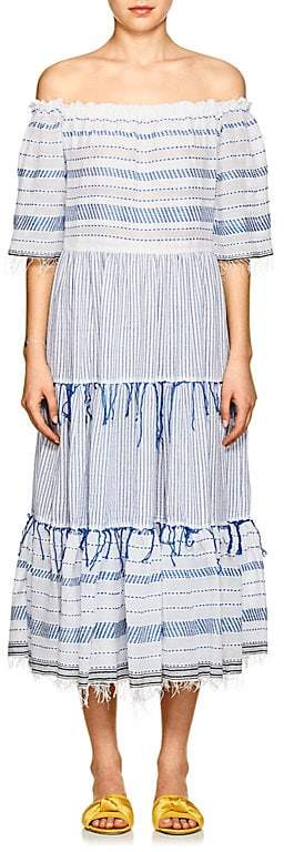 Lemlem Women's Tiki Striped Cotton Maxi Dress