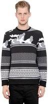 Neil Barrett Printed Neoprene Sweatshirt