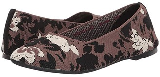 Skechers Cleo - Camofloral (Charcoal/Grey) Women's Shoes