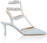 Valentino Women's Rockstud Caged Pumps-BLUE