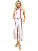 Faithfull The Brand Faithful the Brand Fleetwood Jumpsuit in London Stripe