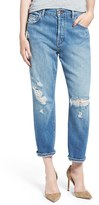 J Brand Women's 'Ivy' High Rise Crop Straight Leg Jeans
