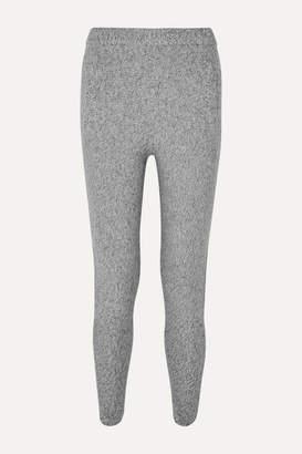 Joseph Melange Wool Track Pants - Gray