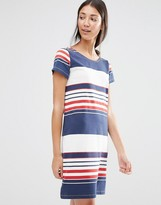 Vila Multi Stripe Shift Dress