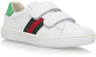 Gucci Kids New Ace VL Trainers