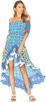 Rococo Sand Off the Shoulder Dress in Blue. - size L (also in S)