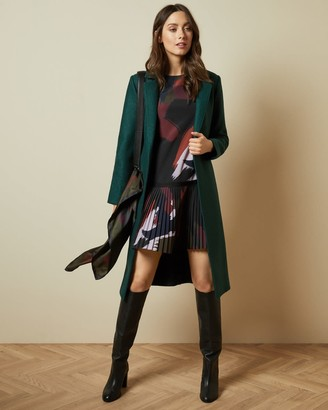 Ted Baker Buttoned Wrap Coat