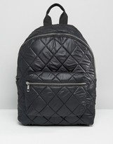 Asos Quilted Nylon Backpack