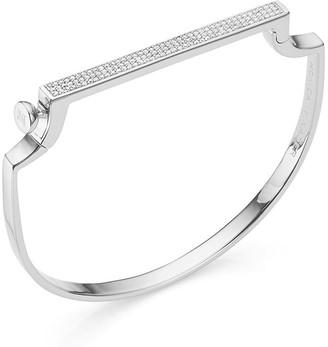 Monica Vinader Signature Thin Diamond bangle