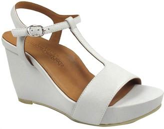 L'Amour des Pieds Leather Sandals - Idelle