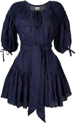 Innika Choo Meg Nettick floral-embroidered dress