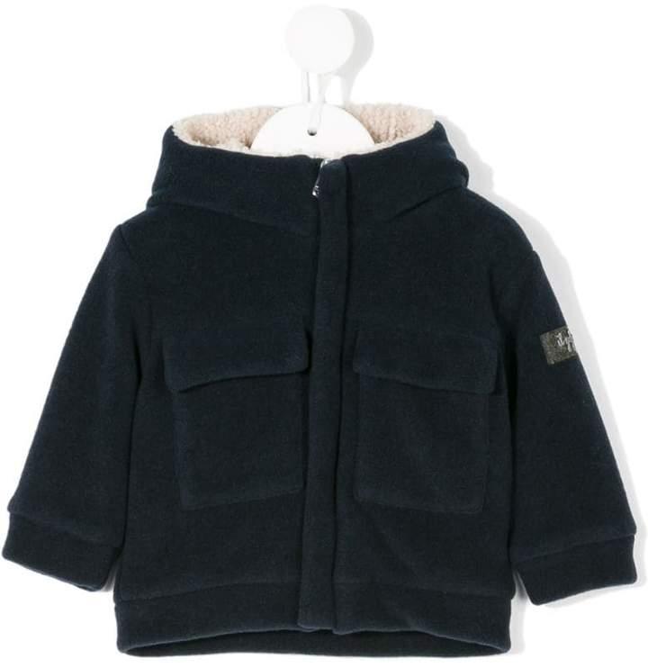 Il Gufo patch pockets hooded jacket