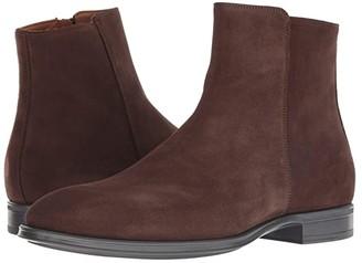 Aquatalia Daniel (Brown Suede) Men's Shoes