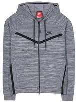 Nike Tech Knit Windrunner cotton-blend hoodie